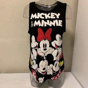 Disney Micky & Minnie Sleeveless Top